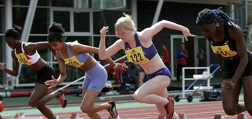 Competing for Loughborough University